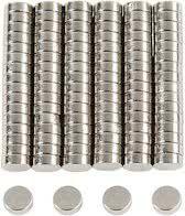 Power magneet, d: 5 mm, 100 stuks