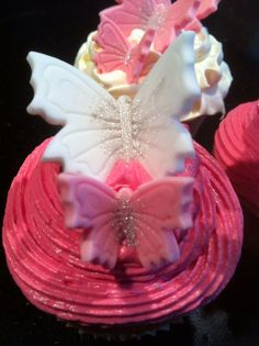 Cupcake vlinders
