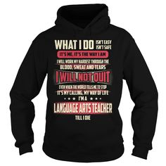 Language Arts Teacher Job Title - What I do