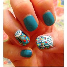 Dreamcatcher nails - @Smackk_datt this is def a must try! :) These for graduation!?