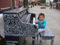 "Panorama City, CA ""Play Me, I'm Yours"" by Artist Luke Jeram, Unprecedented, County-Wide, Free Public Art Instillation Featuring 30 Decorated Pianos in Public Spaces for Angelenos to Play 24/7, Presented by Los Angeles Chamber Orchestra to Culminate Season-Long Celebration of Music Director/Pianist Jeffrey Kahane's 15th Anniversary."