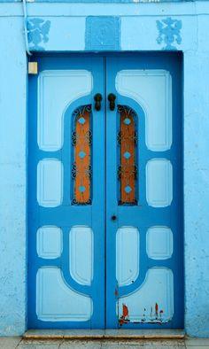 Hammamet, Tunisia door