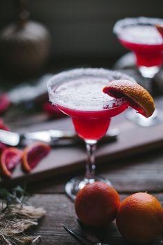 Blood Orange Margarita from @designlovefest