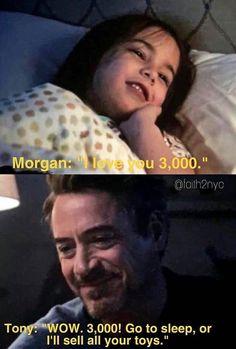 I love you Iron Man Tony Stark Avengers EndGame Marvel Jokes, Funny Marvel Memes, Dc Memes, Avengers Memes, Marvel Dc Comics, Marvel Universe, X Men, Hero Marvel, Marvel Avengers