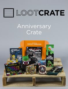 Monthly Subscription Box for Geek and Gaming Gear. A perfect gift for that geek in your life. Under $20 a month.