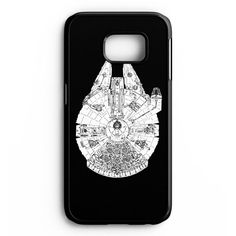 Millenium Falcon Star Wars Samsung Galaxy S6 Edge Plus Case
