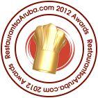 RestaurantsAruba.com dining Award 2012