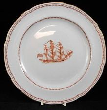 My China - Spode Tradewinds Red - Discontinued - Dinner Plate