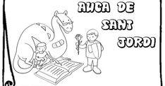 Educació Infantil Brimar: FITXES SANT JORDI