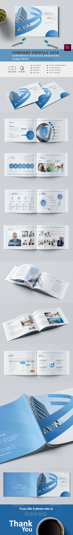 #Company A5 #Profile - #Corporate Brochures