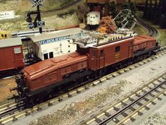 "MTH Premier O Gauge Swiss Ce 6/8"" Crocodile Electric Engine."