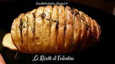 Le Ricette di Valentina: Patate hasselback semplicemente al timo...cotte nella friggitrice ad aria