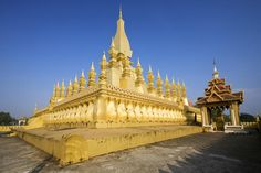 Great Sacred Reliquary, Laos  Pha That Luang