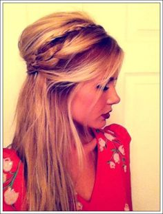 60 So Attractive and Easy Hair knot Styles: Tutorials - Page 3 of 4 - Fashion 2015