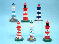 Lighthouse, seaside and coastal decor and maritime themed gifts for home, bathroom, garden or boat. Lighthouse For Sale, Lighthouse Gifts, Lighthouse Decor, Beach Cottage Decor, Coastal Decor, Mini Angel, Gifts For Boaters, Summer Deco, Personalized Housewarming Gifts