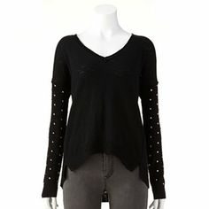 Rock and Republic Studded Sweater - Women's