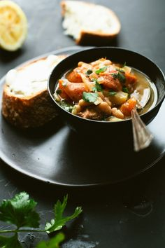 Pressure Cooking: French Pork Stew with White Beans | Not Without Salt