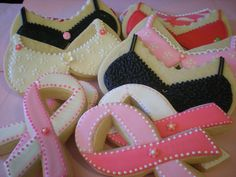 Breast Cancer Awareness Cookies/Pink Ribbon Cookies
