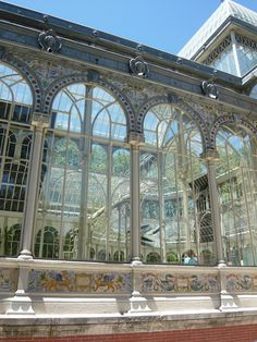 Crystal palace, parque de buen retiro-madrid, spain