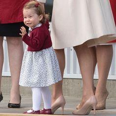 The End of Royal Tour Canada, Princess Charlotte waves goodbye.
