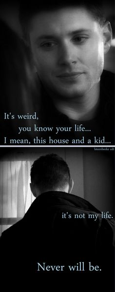 3x02 The Kids Are Alright - one of the saddest scenes of Supernatural. #Dean #Lisa