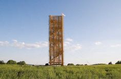 Giant Hand-Built Timber Tower Rises Out of the Czech Countryside ^