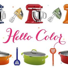 A Colorful Kitchen!