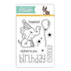 Simon Says Clear Stamps BIRTHDAY CELEBRATION SSS101538