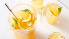 Fresh enough for spring and summer, spicy enough for warmer months, this delicious drink is a go-to for just about every party.