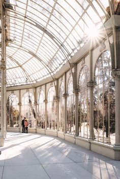 Letting the light fall. If only all Mondays could look like this, architecture, glass ceiling, greenhouse Baroque Architecture, Beautiful Architecture, Beautiful Buildings, Architecture Design, Beautiful Places, Modern Buildings, The Places Youll Go, Places To Go, Preston