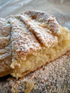 Estonian Kringle e buona Epifania! Italian Desserts, Some Recipe, Biscotti, Baked Goods, Food And Drink, Sweets, Bread, Cooking, Recipes