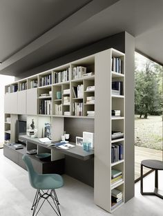 Open shelved units are available for a unique design and additional storage. The Metropolis S06 is designed by Studio IQ, available from IQ Furniture.