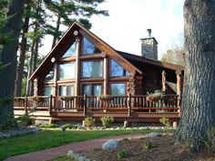 Luxury Full Log Home Vacation Retreat