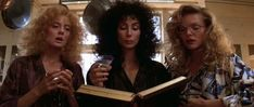 The Witches of Eastwick (bonus Michelle Pfeiffer in spectacles)