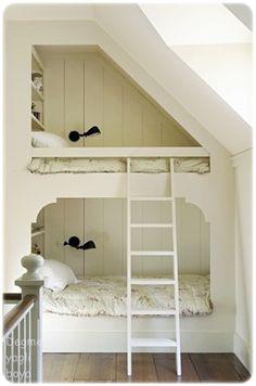 cozy bunk beds