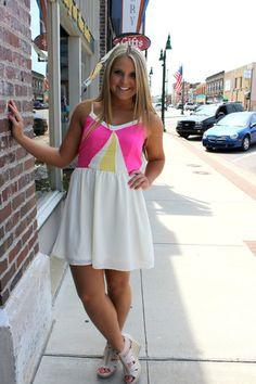 Coney Island Carnival Dress