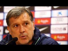 FOOTBALL -  En Directe: la roda de premsa de Tata Martino - http://lefootball.fr/en-directe-la-roda-de-premsa-de-tata-martino/