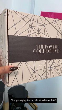 Custom mailer box packaging for new client welcome kit. Music: Call me Musician: LiQWYD Luxury Packaging, Beauty Packaging, Box Packaging, Packaging Design, Social Media Branding, Business Branding, Personal Branding, Business Tips, Custom Mailer Boxes