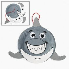 Sharks Party Supplies - There are even shark crafts for kids!