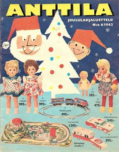 Anttila, Joululahjaluettelo 1962 Amy Tan, Old Commercials, Good Old Times, Magazine Articles, Old Ads, Andy Warhol, Finland, Album Covers, Emoji