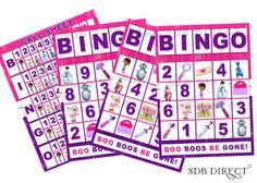 Doc Mcstuffins Bingo Game, Doc Mcstuffins Party, Doc Mcstuffins Birthday, Mcstuffins Supplies, Mcstuffins Games Printable. $5.99, via Etsy.