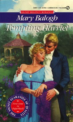 Mary Balogh - Tempting Harriet 	  May, 1994