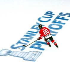 Playoffs: the most wonderful time of the year. #Blackhawks #BecauseItsTheCup