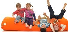 Yogibos are perfect for playrooms