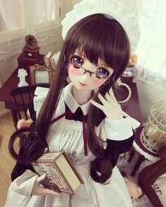 #dollfie #volks #doll #maid by nanamijunko