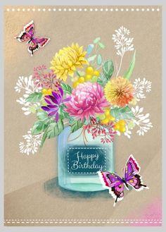 Victoria Nelson - Mason Jar Chrysanths