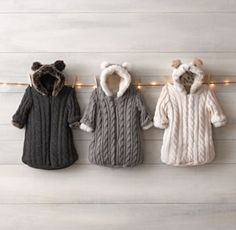 Cable Knit & Luxe Faux Fur Bunting (on sale for $39) | 100+ Awesome Gifts For Kids | The Mindful Shopper
