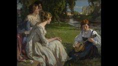 ROBERT HOPE (1869-1936) ~ Scottish painter