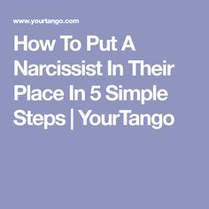 To deal with a narcissist, you have to be more prepared than they are. Here are 5 simple, smart steps for disarming someone with narcissistic personality disorder and learning how to shut them down. Narcissistic Behavior, Narcissistic Sociopath, Narcissistic Personality Disorder, Narcissistic Tendencies, Narcissistic Mother In Law, Narcissistic Boyfriend, Living With A Narcissist, Relationship With A Narcissist, Broken Relationships