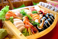 sushi boat - Google Search